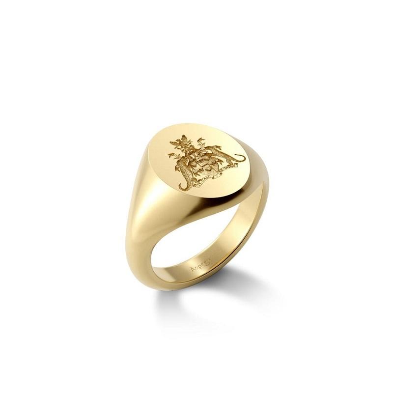Signet Ring một trong các mẫu nhẫn nam đẹp trường tồn với thời gian